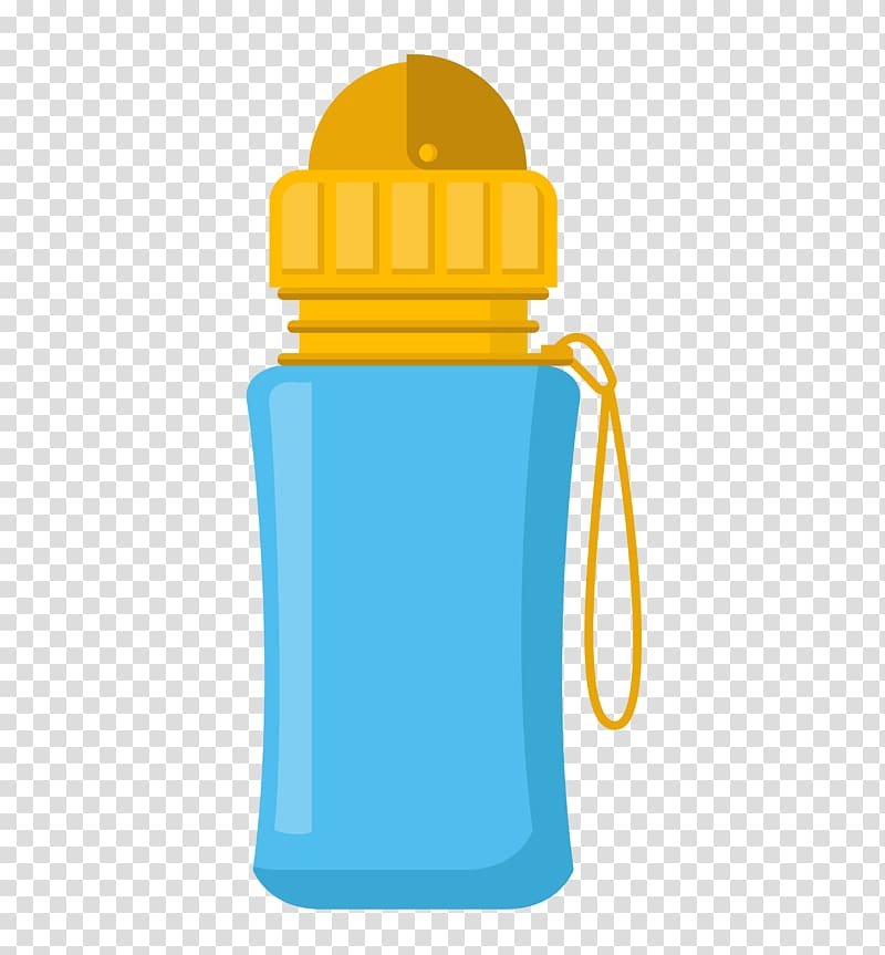Water bottle Cup, Children Bottle transparent background PNG.