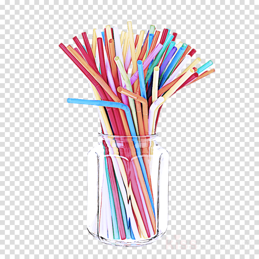 pencil drinking straw writing implement office supplies.