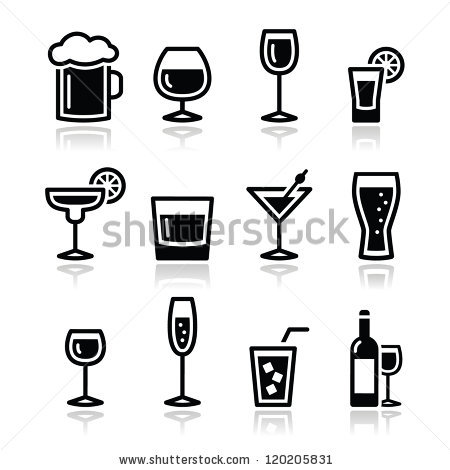 Alcohol Stock Images, Royalty.