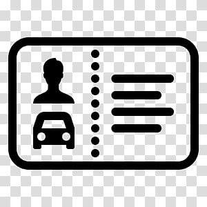 Drivers License transparent background PNG cliparts free.