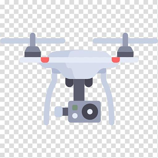 Quadcopter animated illustration, Mavic Phantom Unmanned.