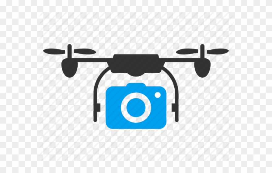 Drone Clipart Camera Logo.