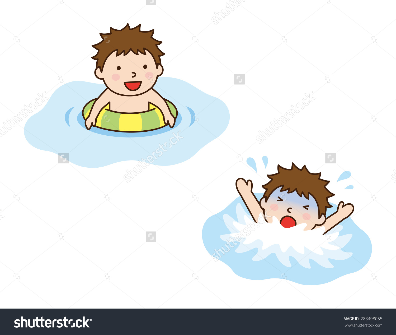 Showing post & media for Cartoon drowning clip art.