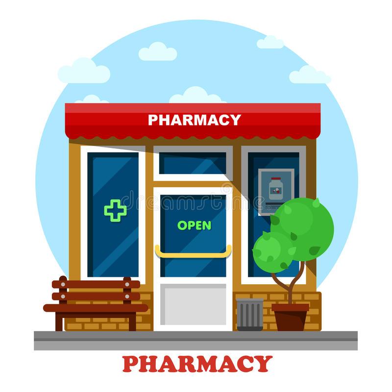 711 Pharmacy free clipart.