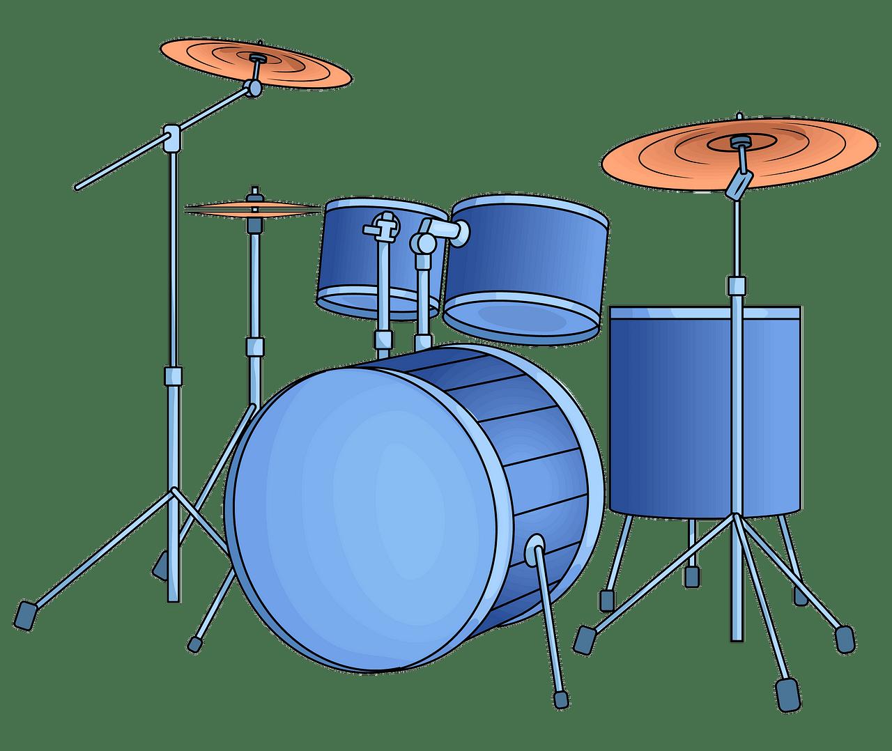 Drum kit clipart. Free download..