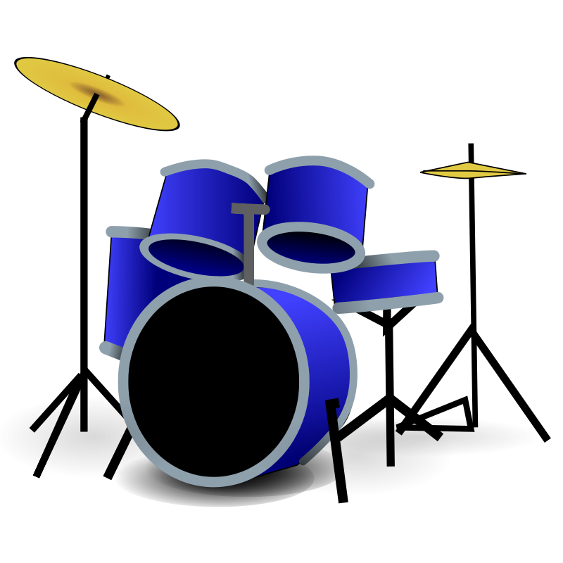 Free Clipart: Drums.