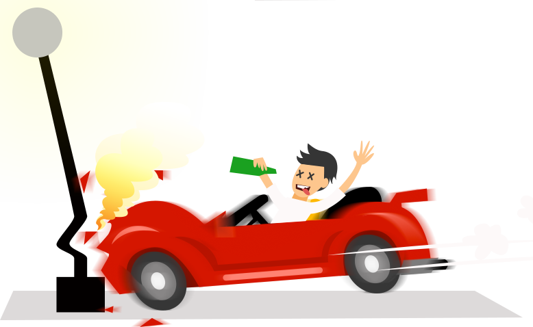 HD Picture Royalty Free Library Drunk Driving Clipart.