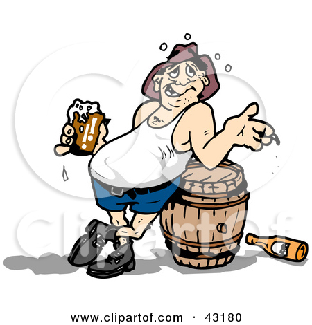 Clipart Drunk Person.