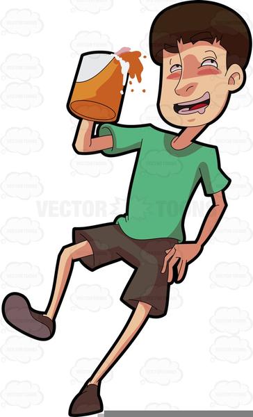 Clipart Drunk Person.
