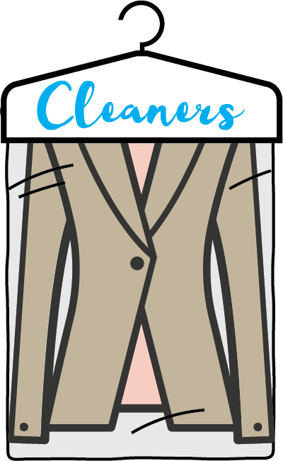 Dry cleaner icon, chore clipart, laundry clipart.