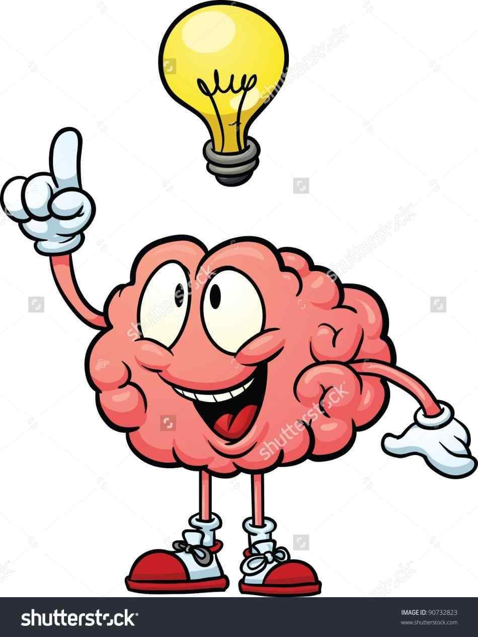 Think Brain Clipart.