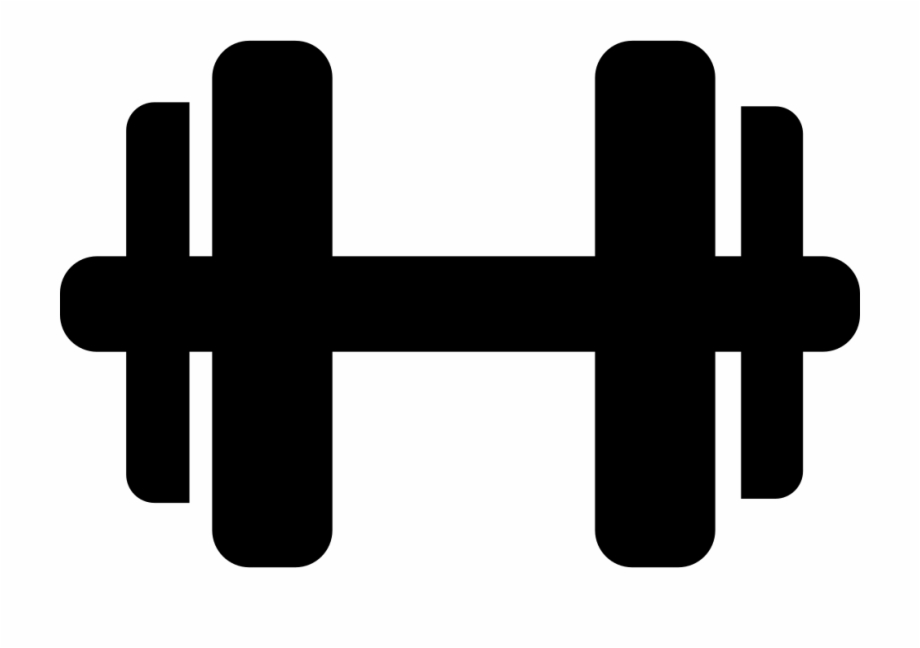 Dumbbell Svg Png Icon Free Download Clipart Dumbbells.