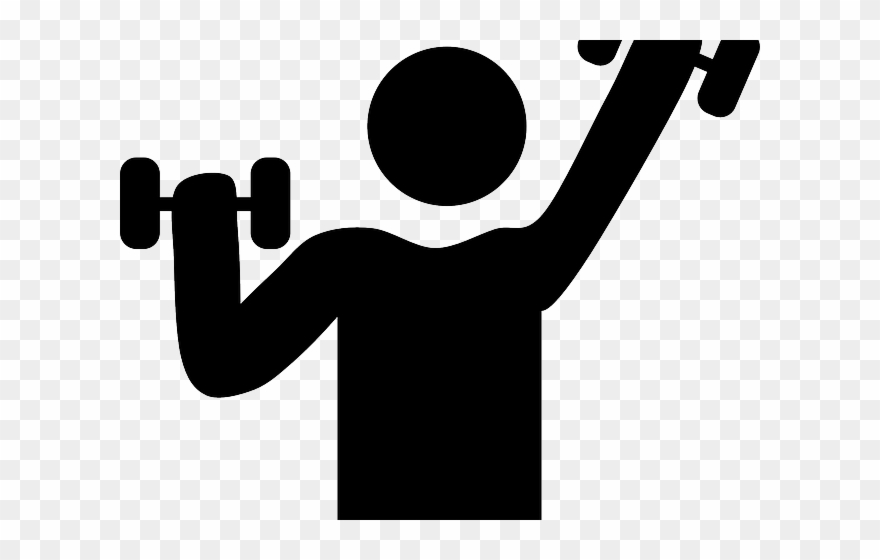 Dumbbells Clipart Fitness Goal.