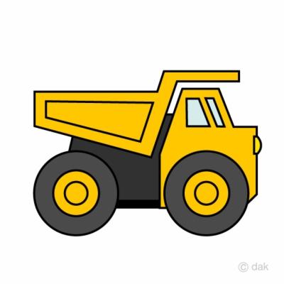 dump truck , Free clipart download.