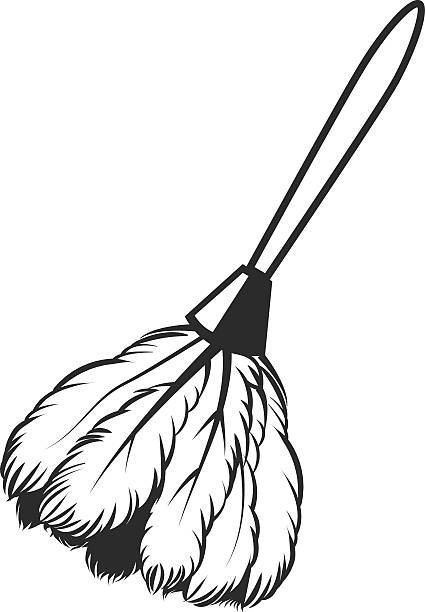 Best Feather Duster Illustrations, Royalty.