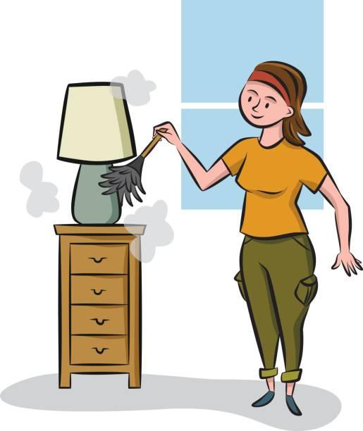 Best Dust Furniture Illustrations, Royalty.