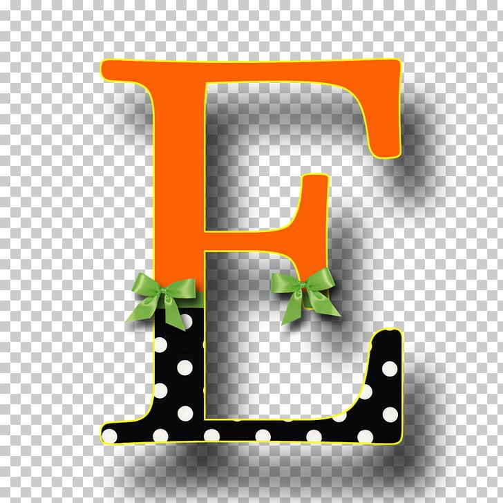 Halloween ABC Paper Letter Alphabet , letter e PNG clipart.