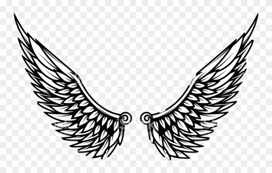 Eagle Wings Template Clipart (#1585316).