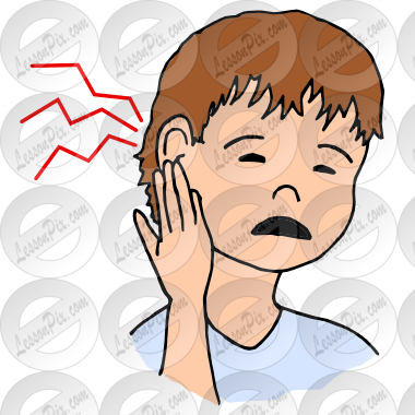Earache Picture for Classroom / Therapy Use.