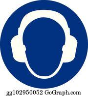 Ear Plugs Clip Art.