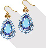 Earrings clipart 1 » Clipart Station.