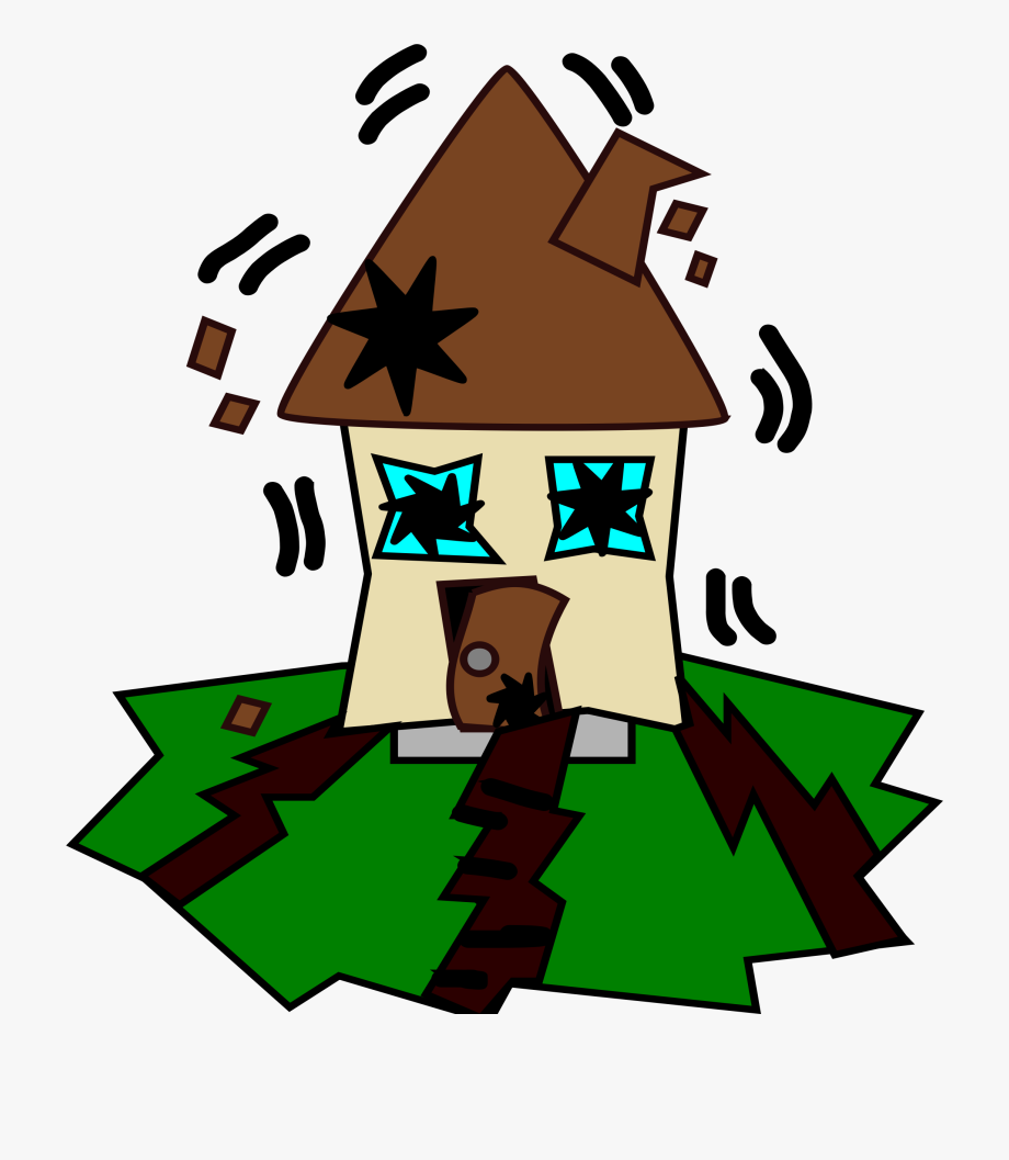 Earthquake Clipart.