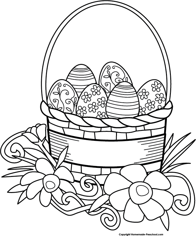 Free Easter Images Black And White, Download Free Clip Art.