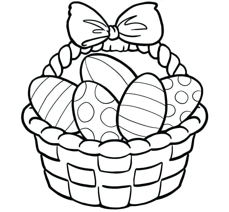 Easter Clipart Black And White Png.