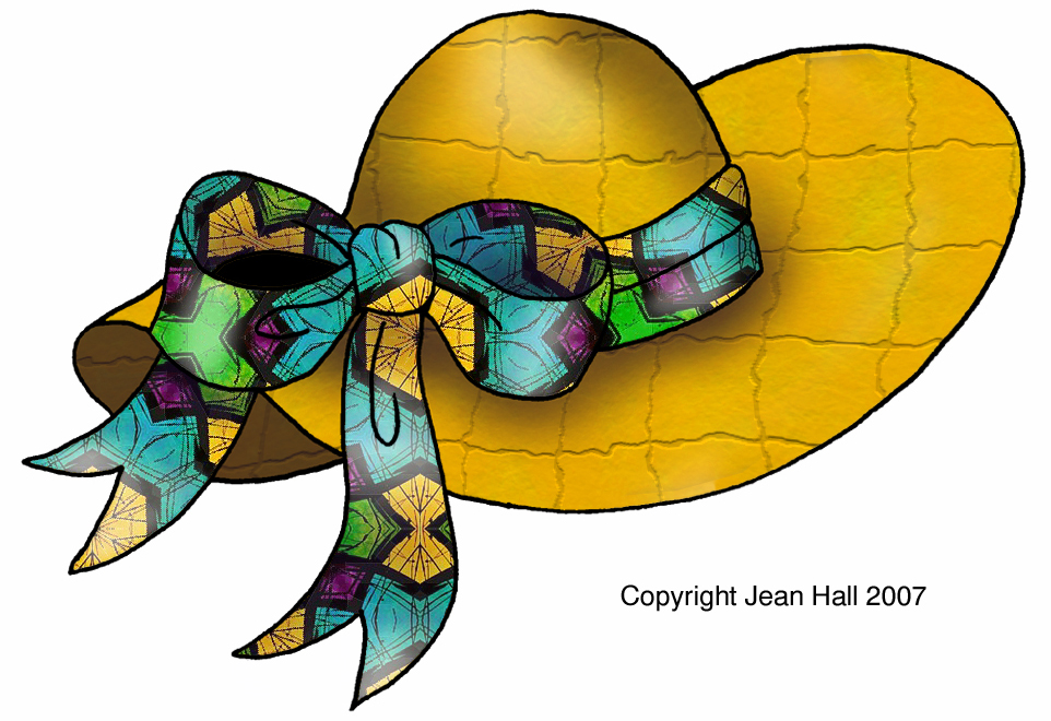 Hats Easter Bonnets Tropical Gardens Clipart Prints For free.