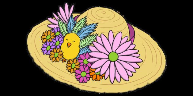 Easter Bonnet 2 Illustration.