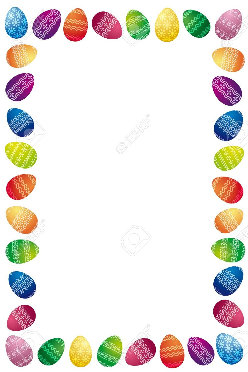 Free easter border clipart 7 » Clipart Station.