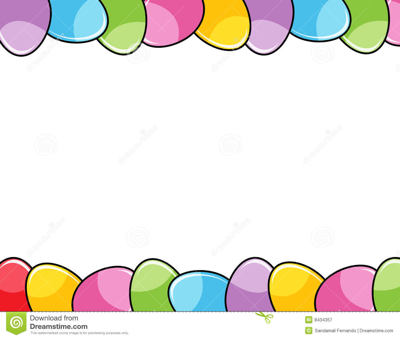 Free easter border clipart 1 » Clipart Station.