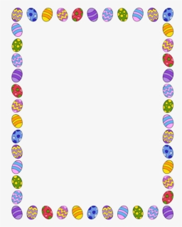 Free Easter Border Clip Art with No Background.