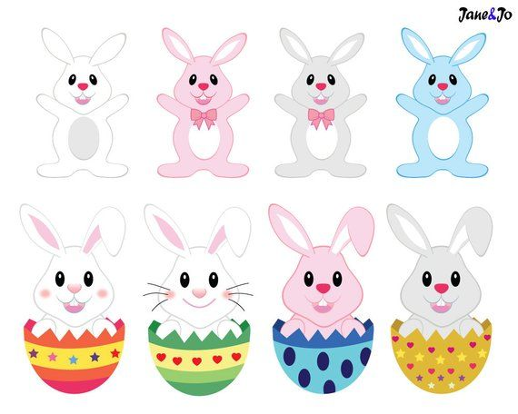 Sale Easter clipart, Easter clip art, Easter bunny clipart.