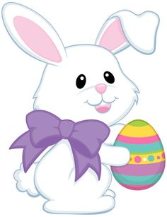 clipart easter bunny exercising image #13
