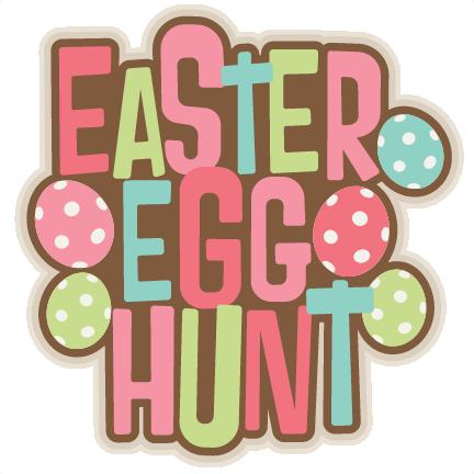 Egg Hunt Clipart.