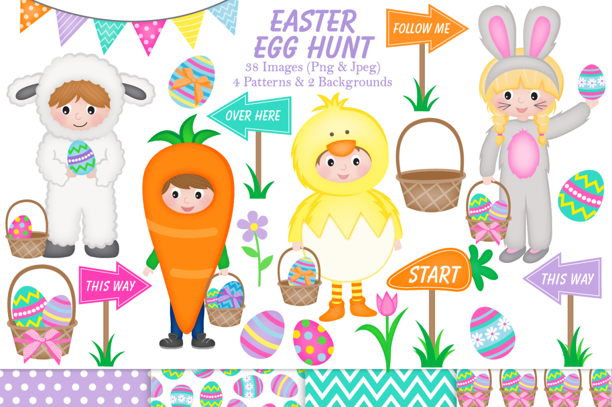 easter clipart graphics & illustrations.