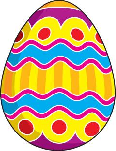 Easter Egg Clipart.