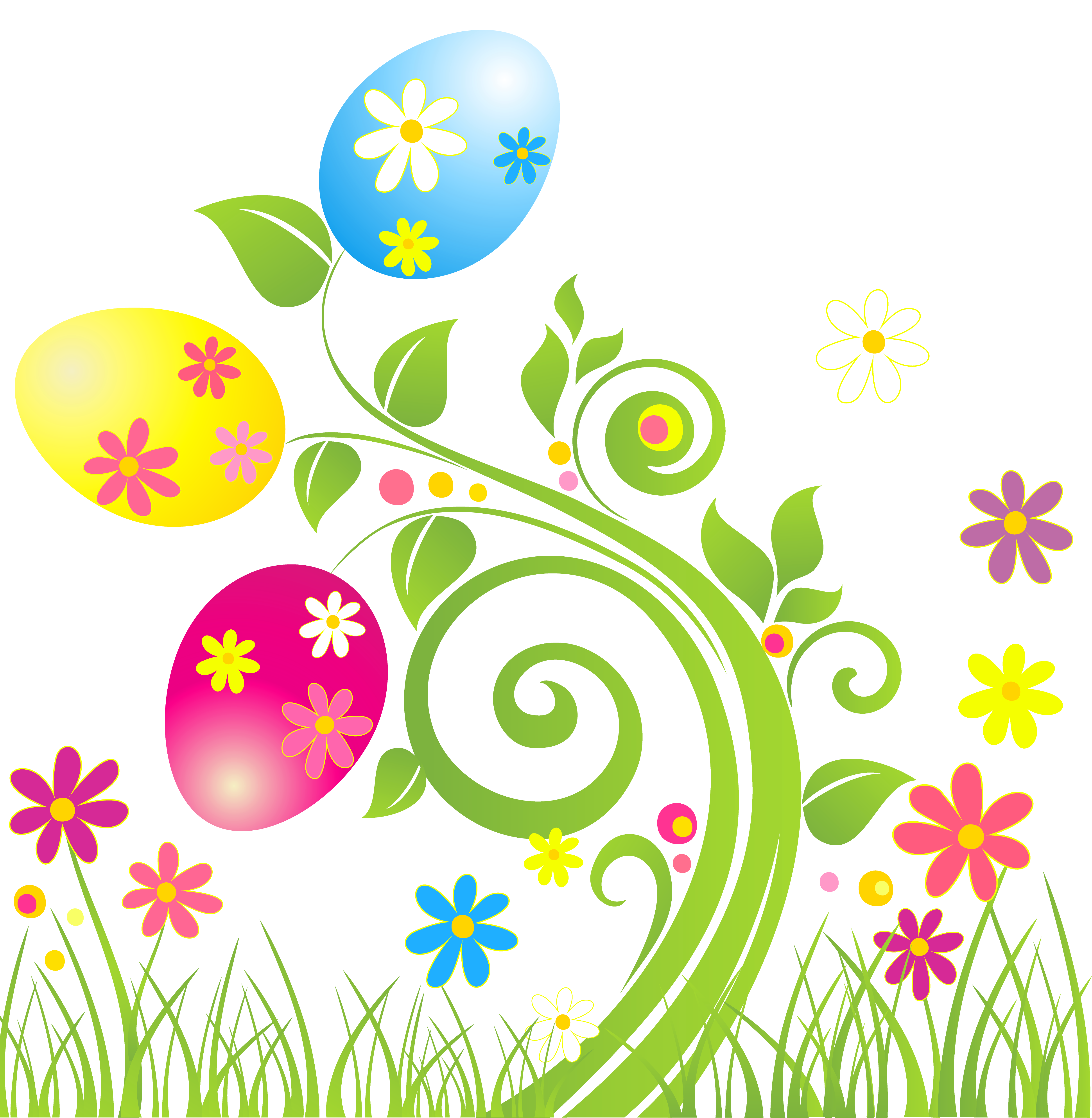 Free Easter Flowers Cliparts, Download Free Clip Art, Free.