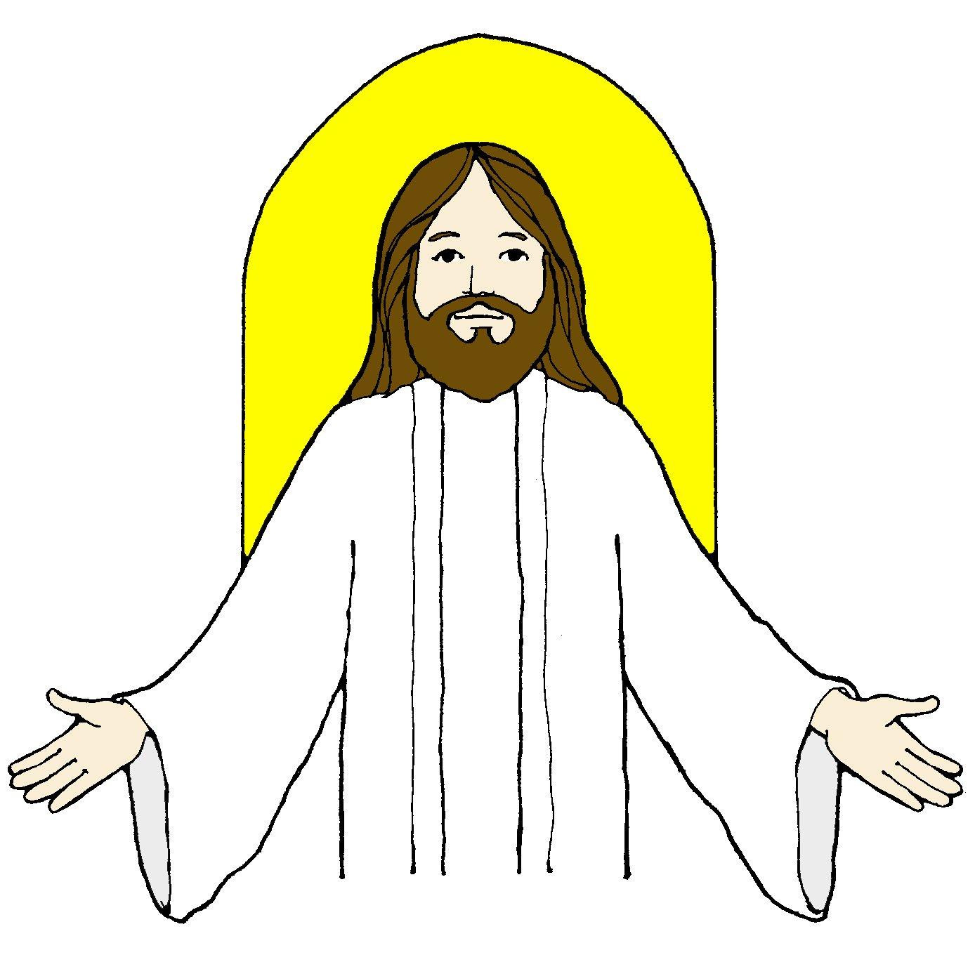 12211 Jesus free clipart.