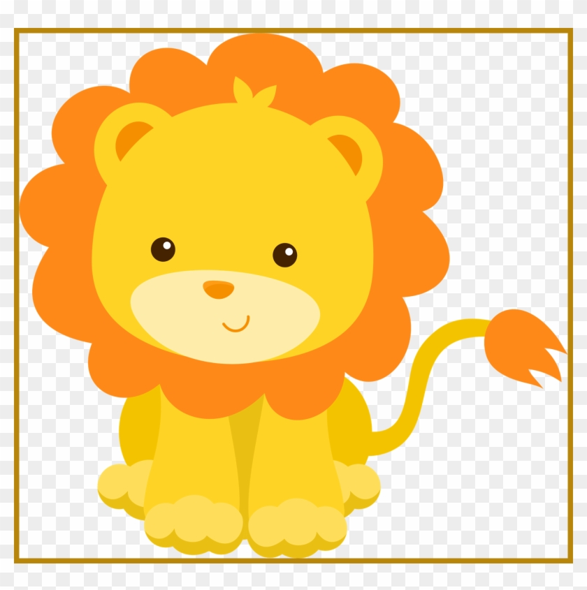 Download Free png Lion Clipart Lion Clipart Easy Shocking Jungle.