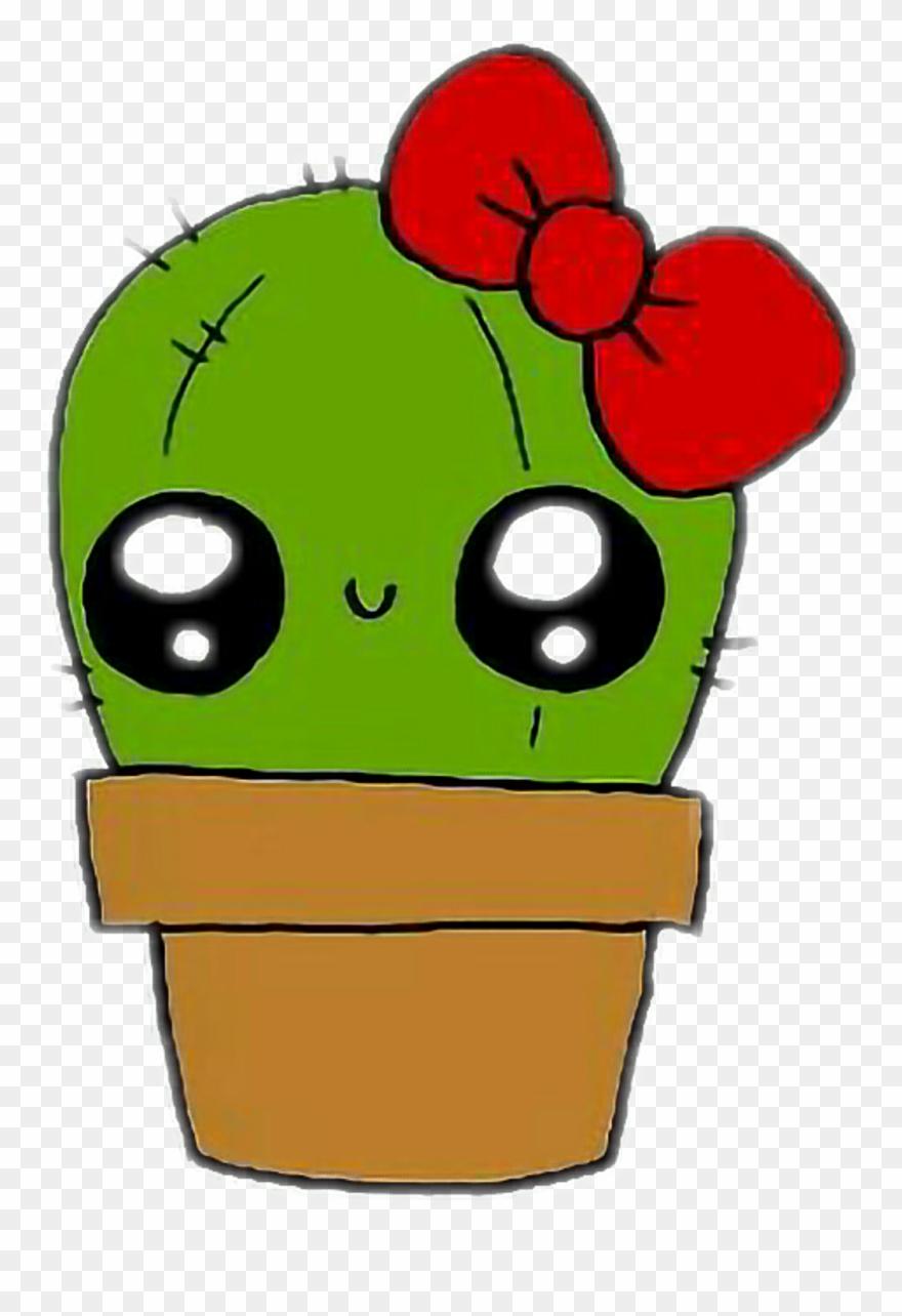 Kaktus Sticker.
