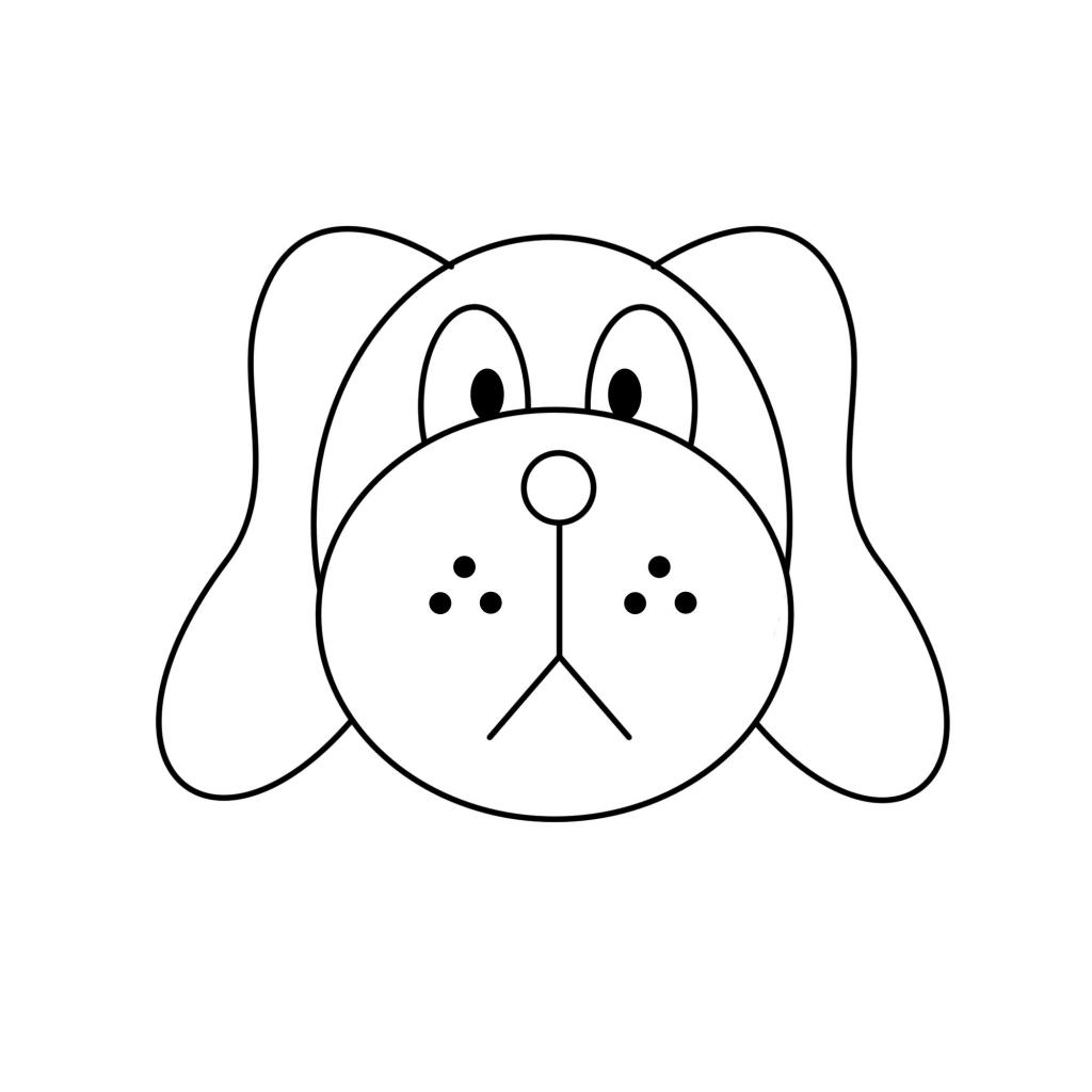 Easy clipart dog clipartxtras jpeg.
