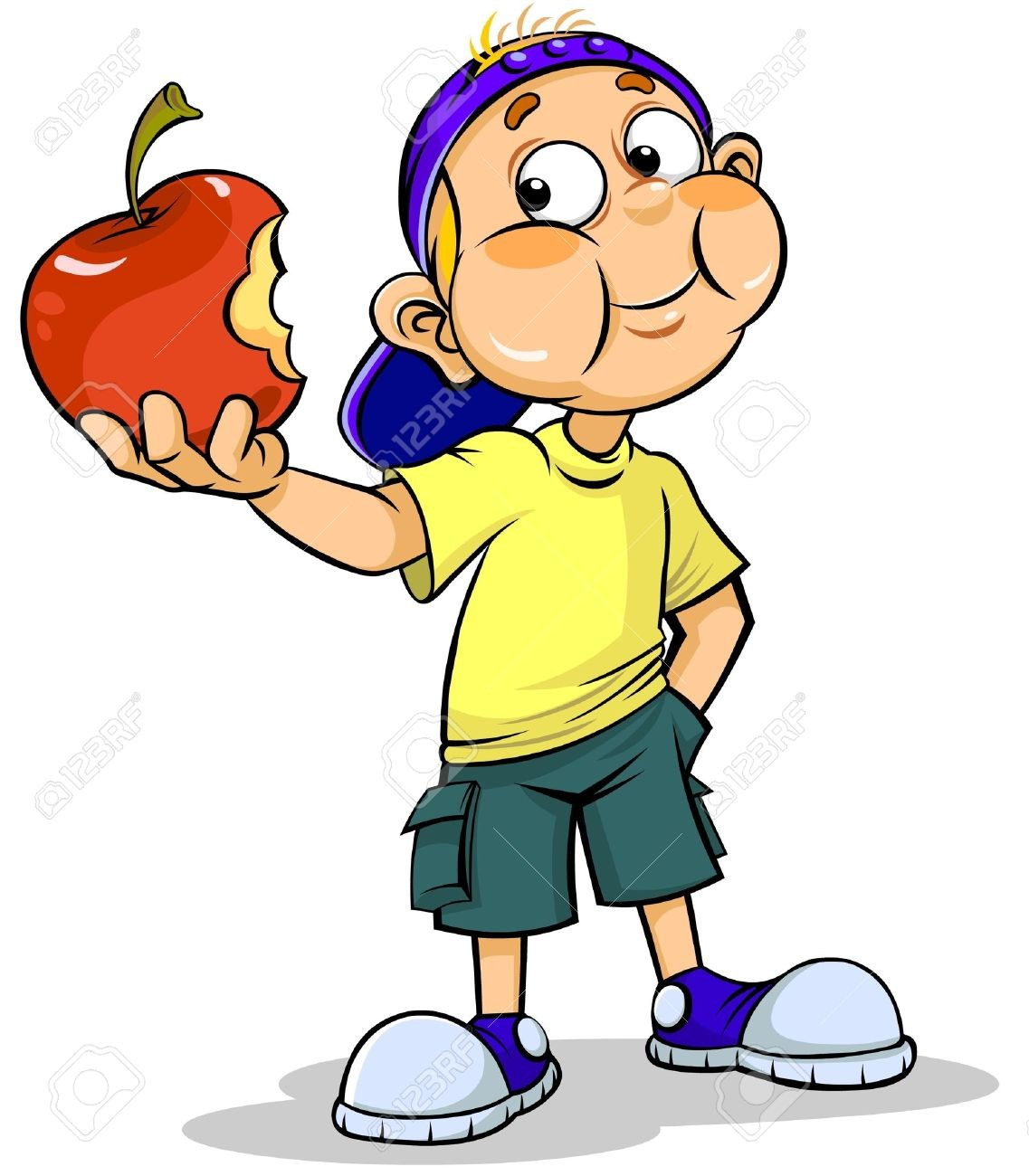 In Clip Art Eating Apple Clipart Eat Kid Free Download Best On.