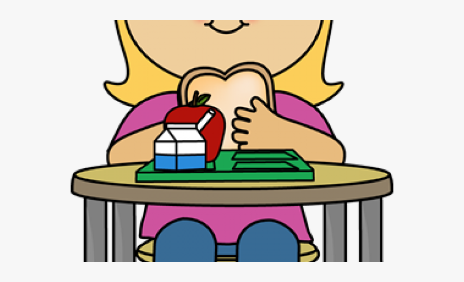 Lunch Clipart Girl.