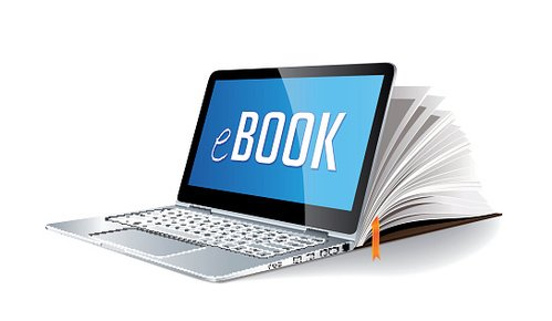 Ebook concept.