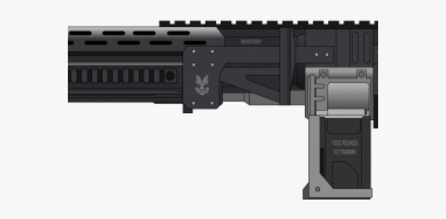 Assault Rifle Clipart.