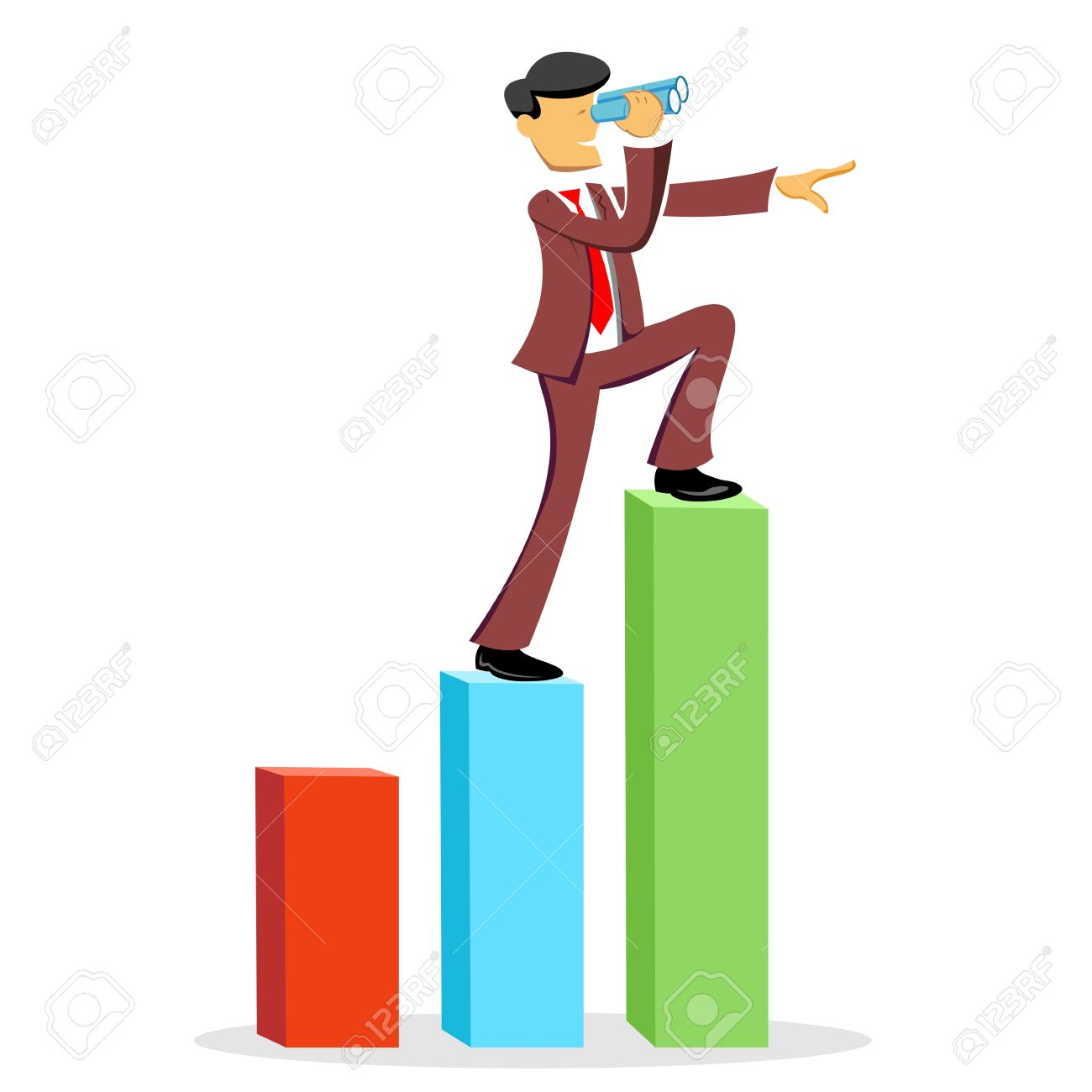 Business Forecast Clipart.