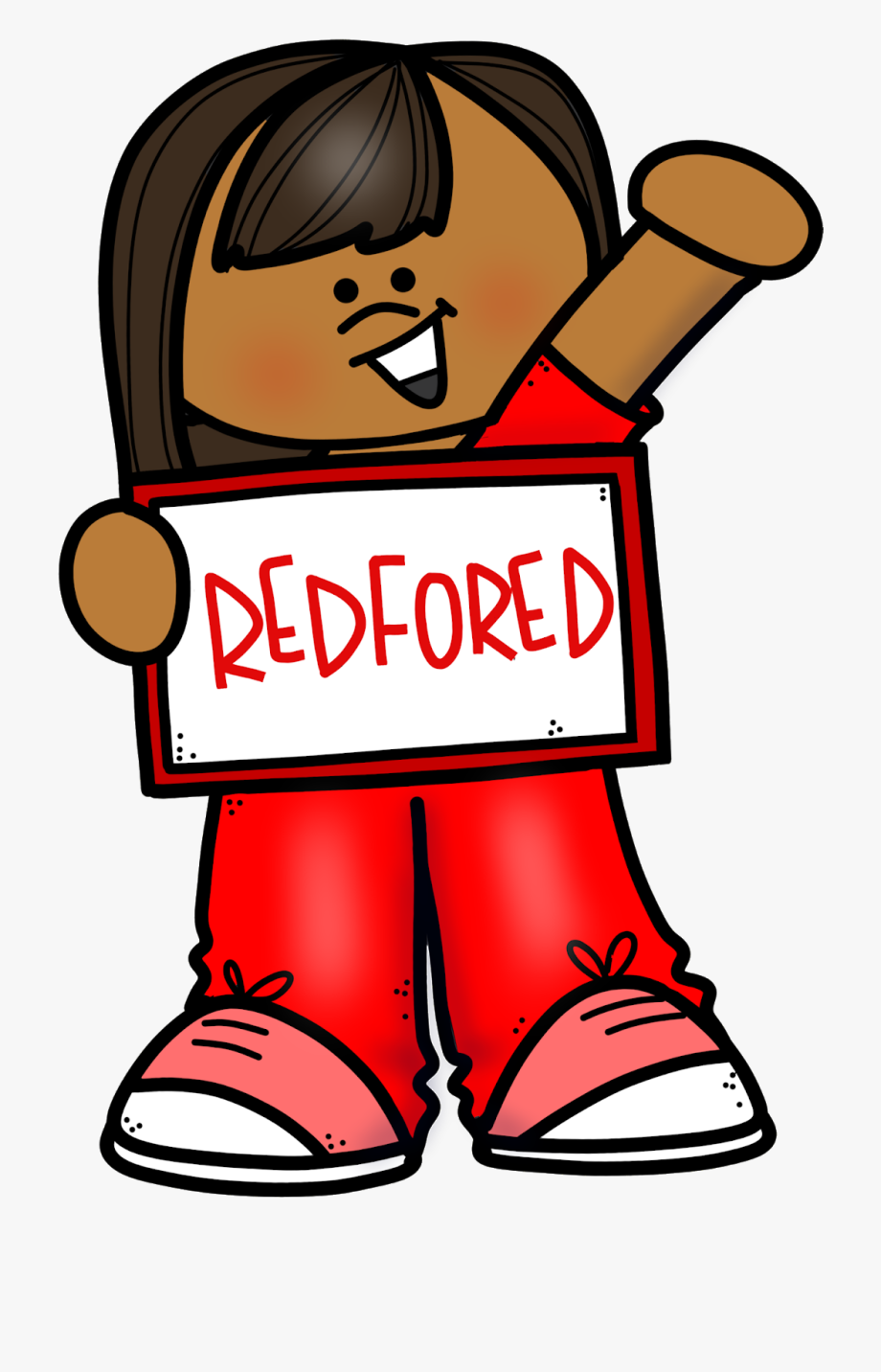 Red For Ed Clipart , Transparent Cartoon, Free Cliparts.