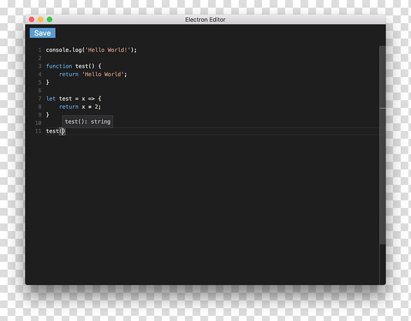 Theme Shell Command macOS Text editor, Shell transparent.